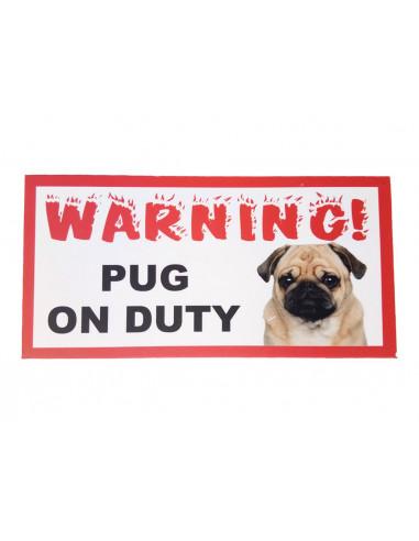 Pawzone warning Board(Guard Dog on Duty)