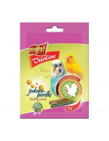 Vitapol Vitaline Iodine Pearls For Parrots 20gms