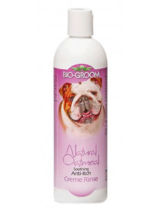 Biogroom, Natural Oatmeal Anti-Itch Crème Rinse Conditioner 355ml