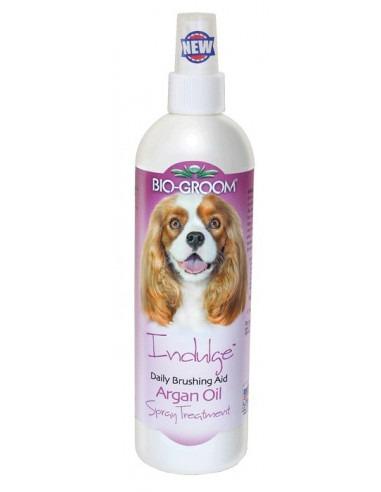 Biogroom, Indulge Argan Oil Spray, Leave-In Conditioner 355ml