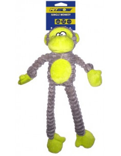 Tuff Squeaks Jungle Monkey Double Stitched, 36cm