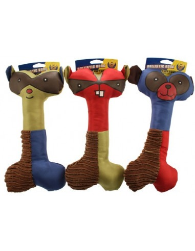 Tuff Squeaks Ballistic Bone Toy  31cm