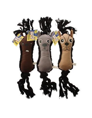 Tuff Squeaks Ballistic Rope Pet Toy  38cm