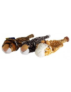 Animal Skin Plush Bottle Buddy Toy 32cm