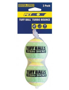 Tuff Ball Turbo Bounce Toy 2PK 7cm