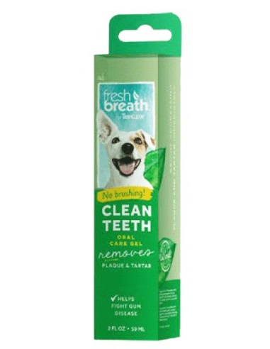 Tropiclean Fresh Breath Clean Teeth Brushing Gel For Dogs 59 ml