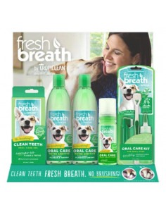 Tropiclean 16pc Fresh Breath Starter Display - Free POS Display