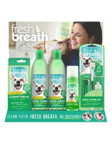 Tropiclean 16pc Fresh Breath Starter Display - Free POS Display