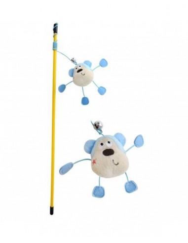 Pet Brands, Monkey Wand Playing Rod Toy
