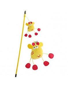 Pet Brands, Giraffe Wand Playing Rod Toy