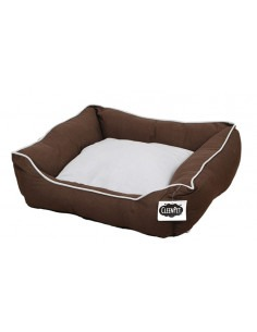 Cleen Pet Lounger Bed Brown
