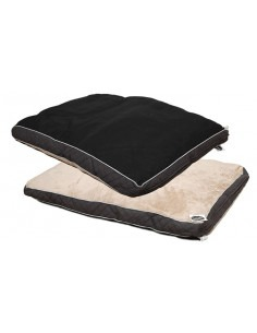 Cleen Pet Soft Flat Bed (Brown)