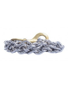 Pawzone  Heavy Weight Dog Chain With Brass Hook