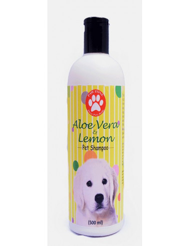 Pawzone Aloe vera & Lemon Pet Shampoo 500ml