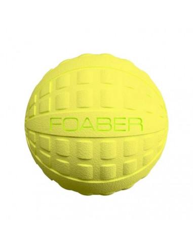 Pet Brands, Foaber Bounce Ball, Foam Rubber Hybrid Toy Small, Green