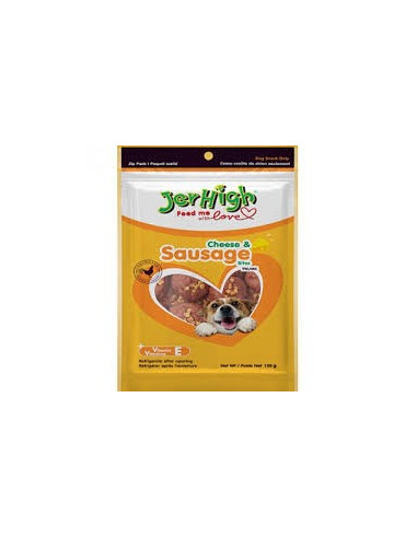 Jerhigh Cheese And Sausage Dog Chewy Treats