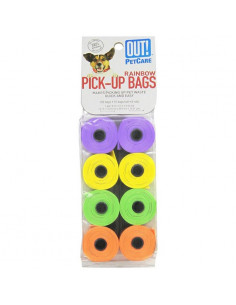 OUT! Blue Dog Waste Pick-Up Bags