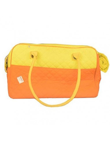 Pawzone Orange Traveller bag for Dogs