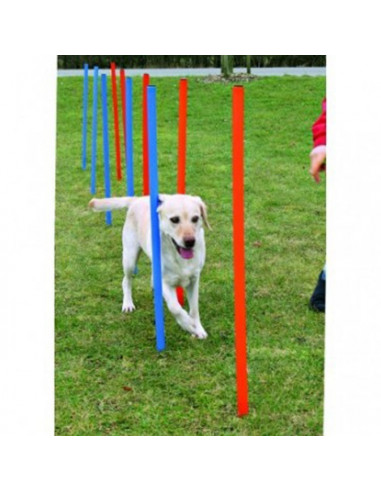 Trixie Dog Activity Agility Slalom (weave poles) 115 x Dia. 3 cm, 12 pcs