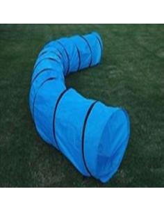 Trixie Dog Activity Agility Puppy Tunnel, 7 feet Length/ 1.35 feet Diameter, Blue