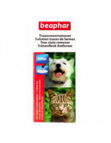 Beaphar Oftal Tear Stain Remover For Dogs and Cats, 50 ml