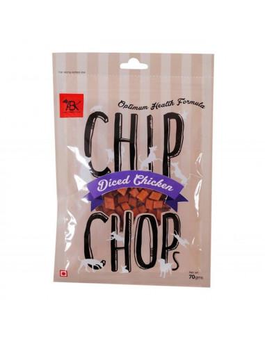 CHIP CHOPS Diced Chicken, 70gm