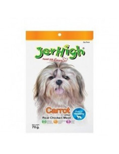 Jerhigh Carrot Stix Dog Treats,70 G