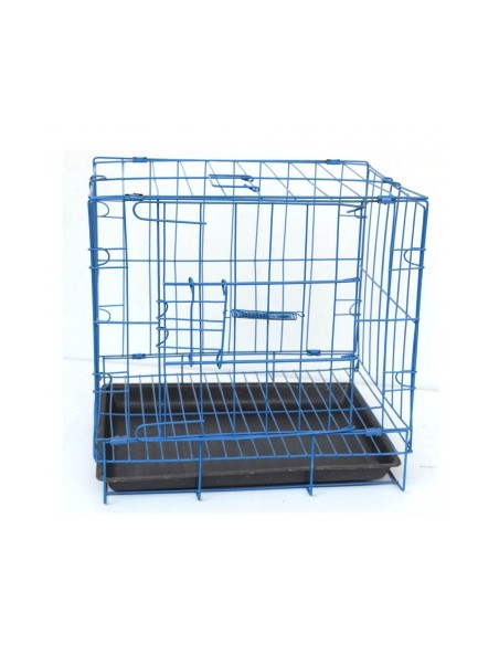 Pawzone Cat Cage With Tray colour may vary