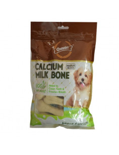 Gnawlers Calcium Milk Bone Medium Pack, 12 pieces