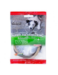 N-Bone Puppy Teething Ring Chicken Flavour