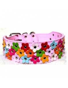 Pawzone Flower Collar Pink For Dogs