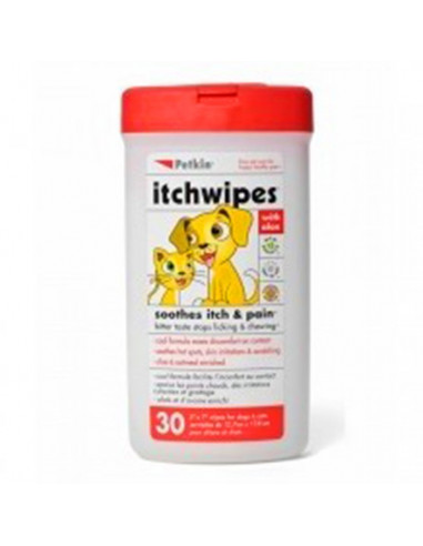 Petkin Itchwipes 30-count
