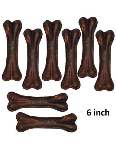 Pawzone 5 Inches Chocolate Bones For Dogs