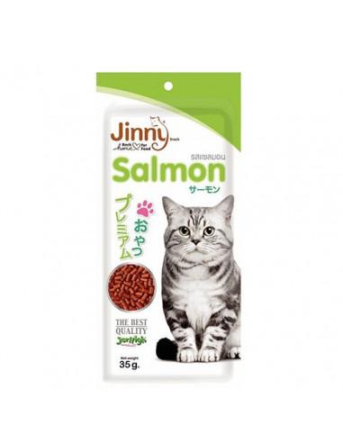 JERHIGH JINNY SALMON 35G CAT TREATS 35gms