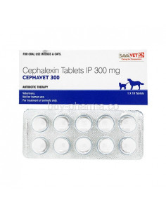 Savavet Cephavet 300 (1*10) Tablets