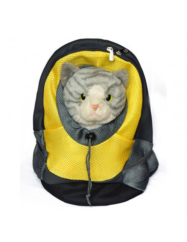 Pawzone Comfortable Dog Cat Pet Carrier Backpack For Small Dogs