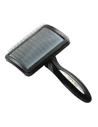 Andis , Premium Soft Slicker Brush, Black
