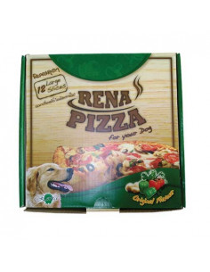 Rena Dog Pizza, 12 Large Slices