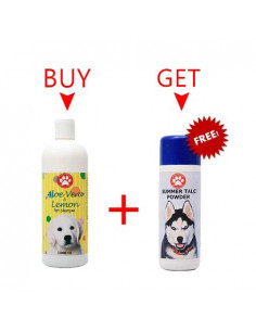 Pawzone Aloe vera & Lemon Pet Shampoo 1000ml