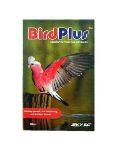 Sky Ec Bird Plus Multivitamins For All Birds 30 ml (Pack of 2)