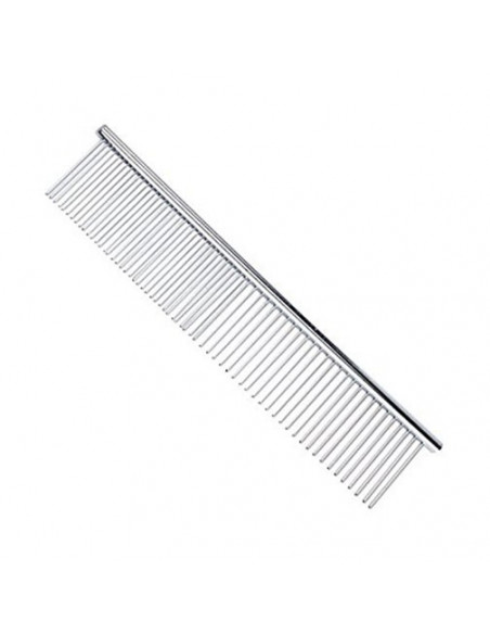 """Smarty Pet 7.5"""" Inches Steel Flat Comb"""