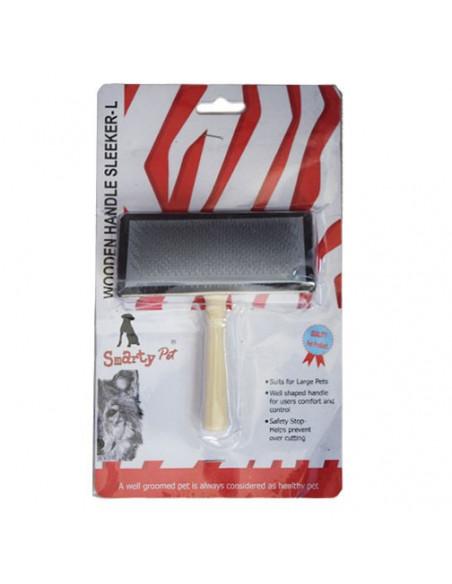 Smarty Pet Wooden Handel Sleeker Comb