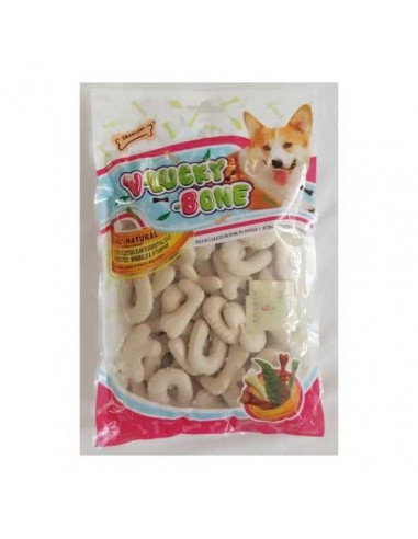 GNAWLERS V-LUCKY MILK BONE WITH CALCIUM 270 G