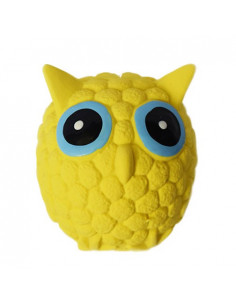 Latex Owl Shape Squeaky Toy