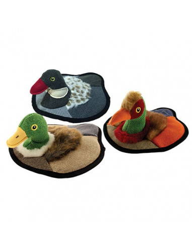 "Petsports,  Tuff Plush Duck Decoy 9"" Assorted, 23cm"