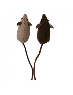 Petsports, USA Earth Mice 2 PK, 8 cm