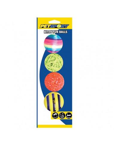 Kitty Fun Balls Assorted Toy