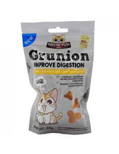 Grunion Digestion Improvement Cat Treat 60g