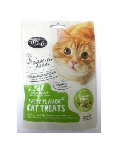Endi Star Shape Cat Bites Shrimp Flavor Cat treat-60gm