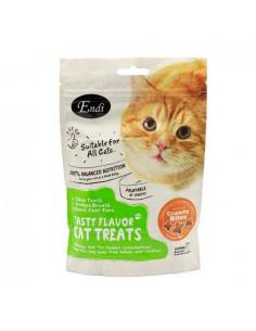 Endi Crunchy Bites Chicken Flavor cat treat – 60g
